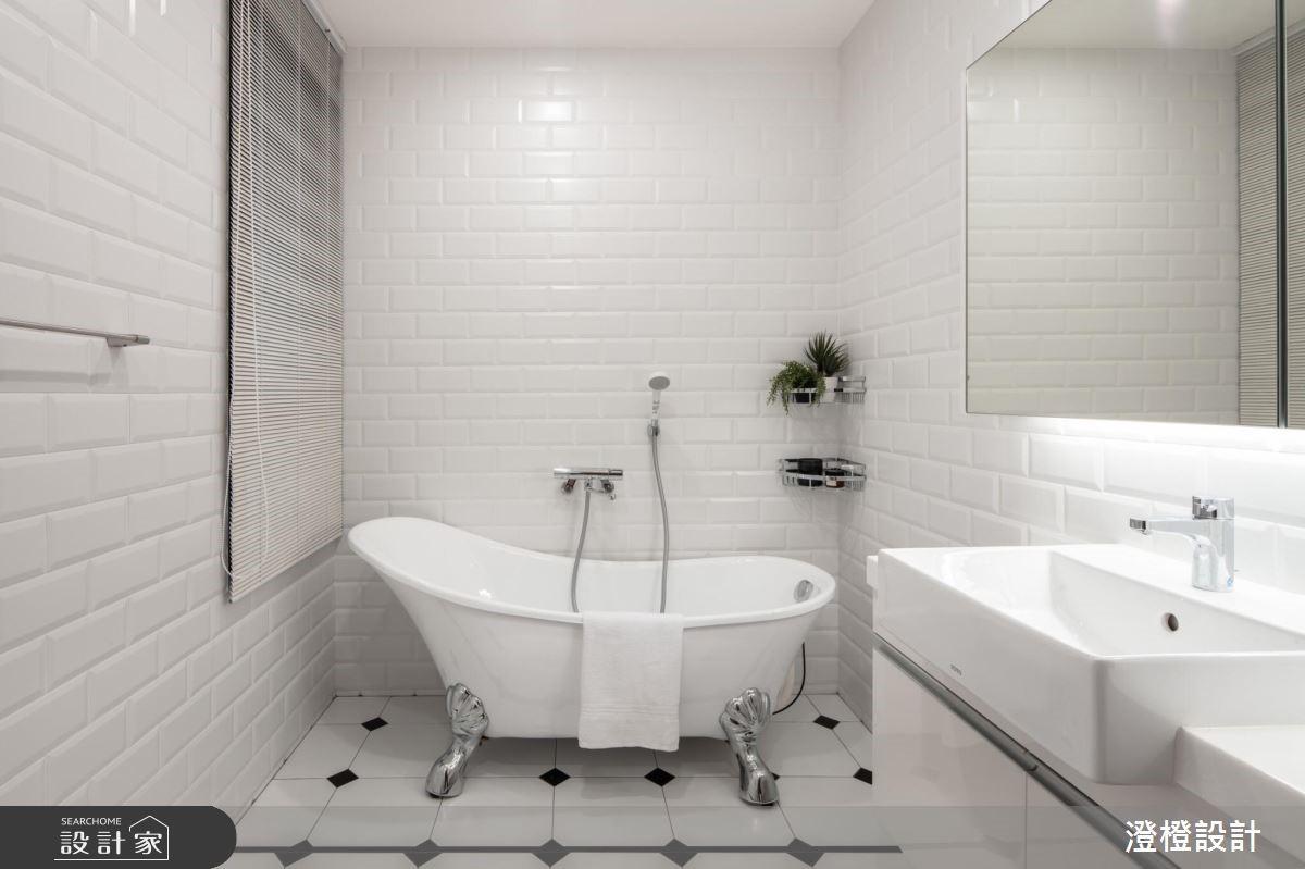 27坪新成屋(5年以下)_工業風浴室案例圖片_澄橙設計_澄橙_37之11