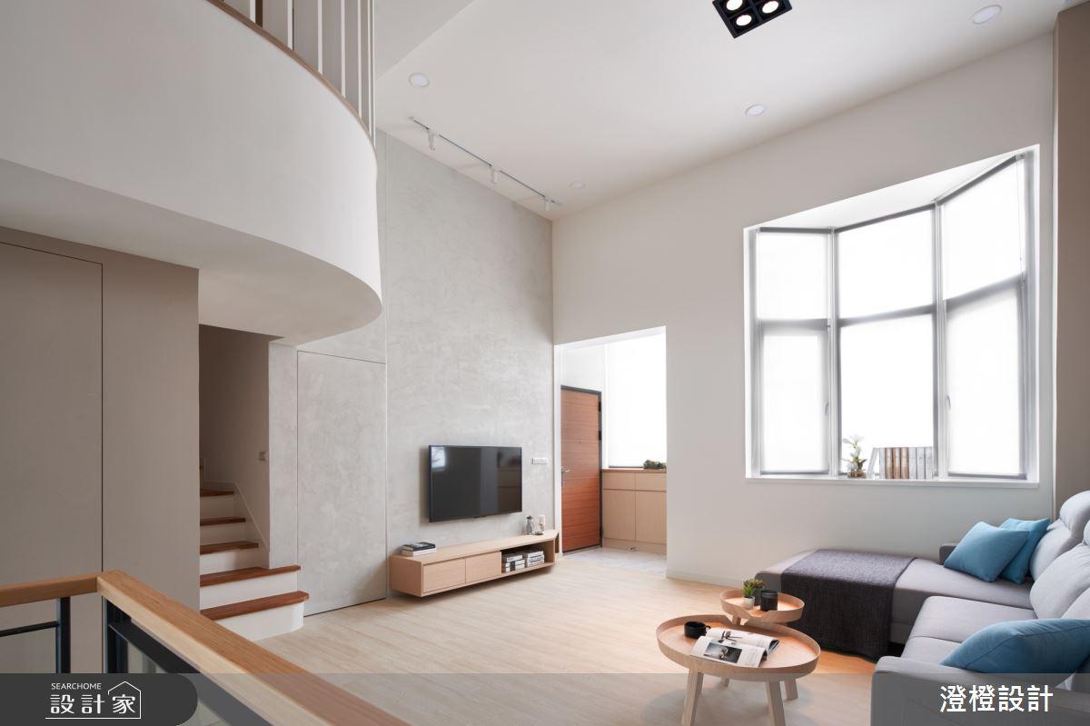 41坪老屋(16~30年)_北歐風客廳案例圖片_澄橙設計_澄橙_42之2