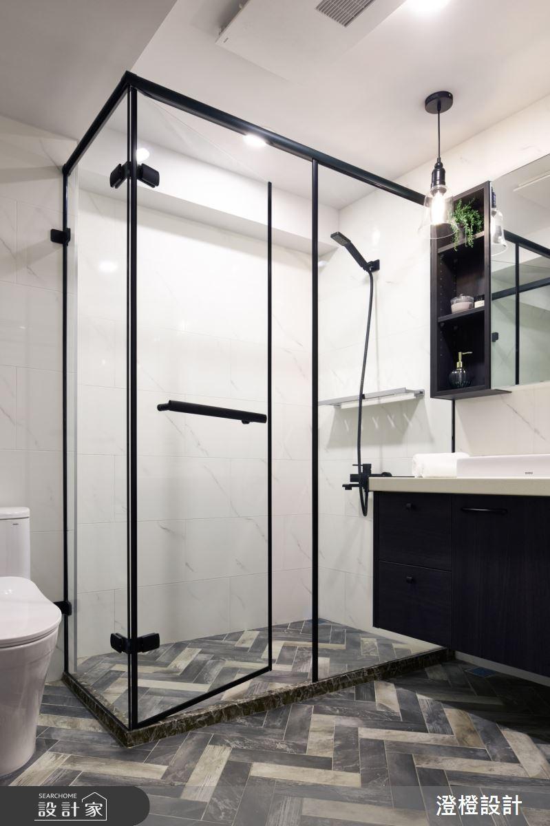 23坪中古屋(5~15年)_北歐風浴室案例圖片_澄橙設計_澄橙_43之10