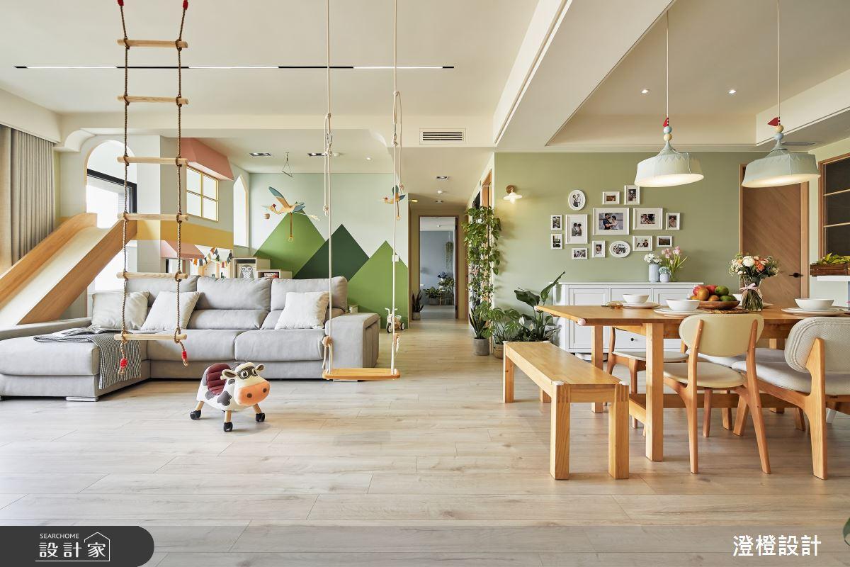 46坪新成屋(5年以下)_北歐風案例圖片_澄橙設計_澄橙_53之1