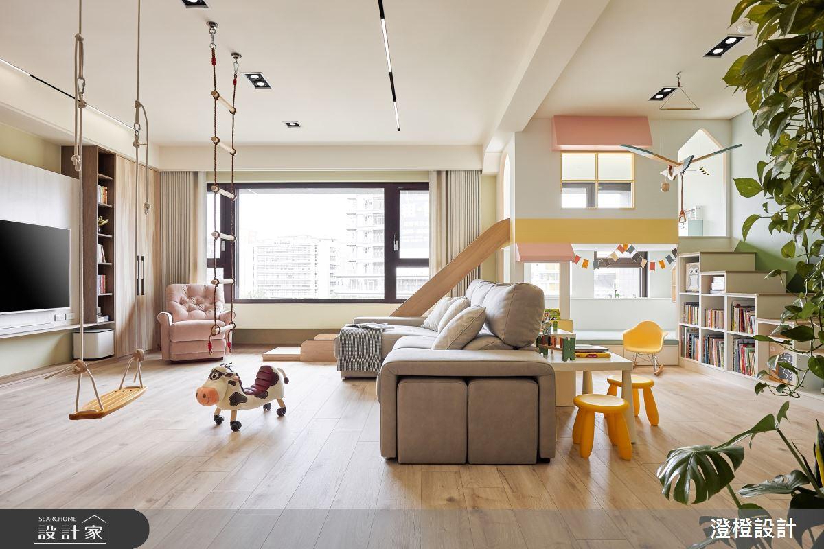 46坪新成屋(5年以下)_北歐風案例圖片_澄橙設計_澄橙_53之6