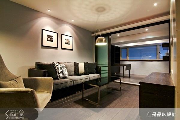 18坪_現代風客廳案例圖片_佳是品味設計有限公司_佳是品味_01之2