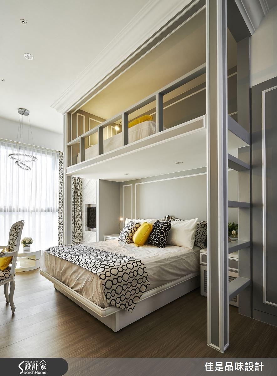 8坪新成屋(5年以下)_奢華風臥室案例圖片_佳是品味設計有限公司_佳是品味_09之4