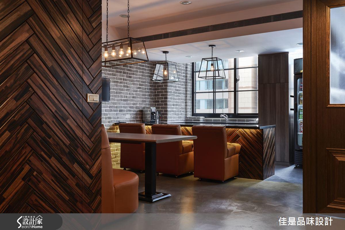 整座辦公室都是我的咖啡館!28坪老屋變身Loft風格辦公室