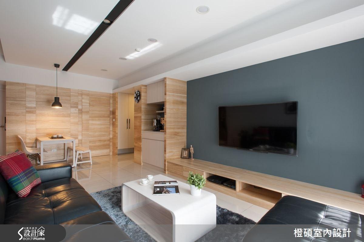 30坪新成屋(5年以下)_現代風案例圖片_橙碩室內設計_橙碩_07之1