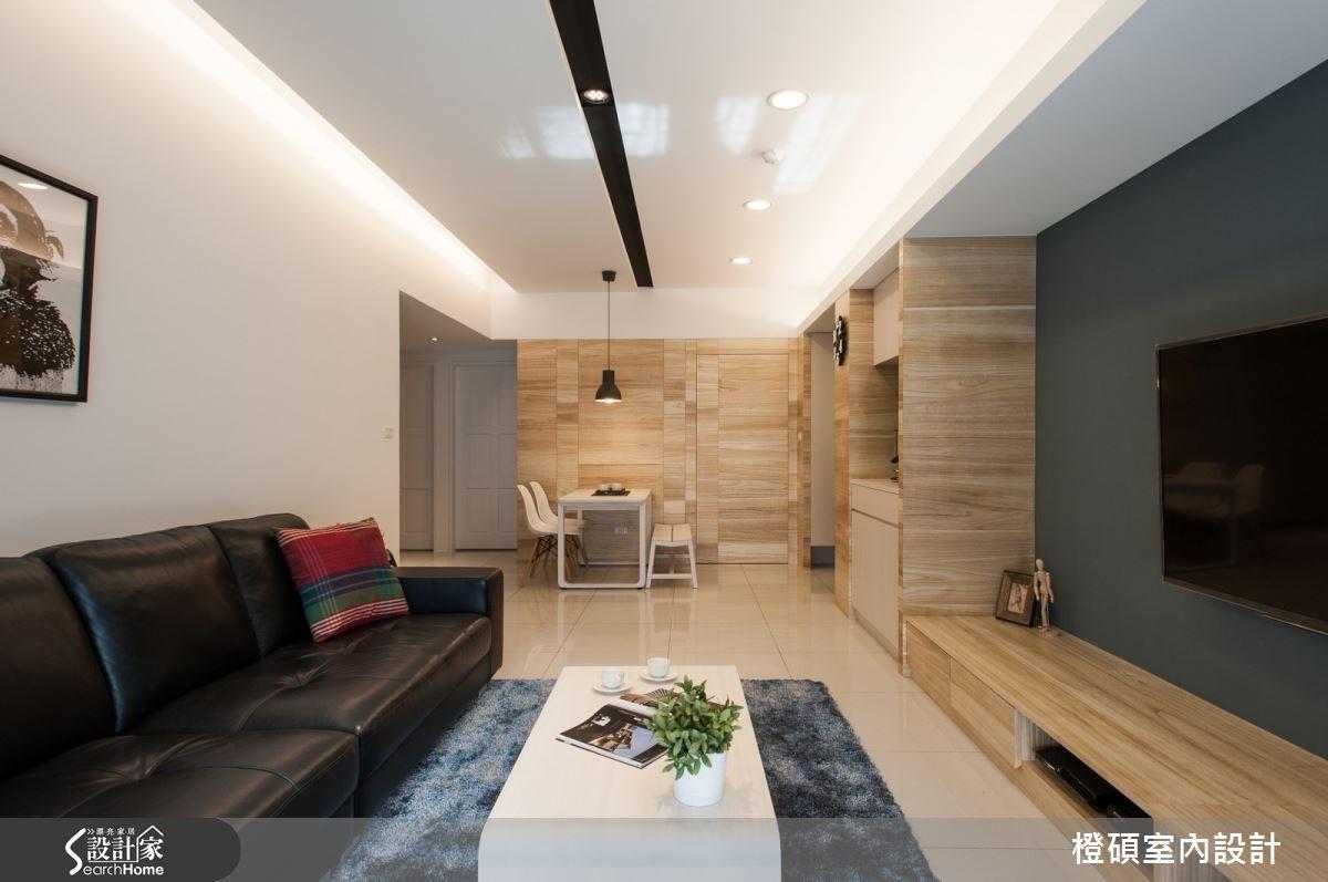 30坪新成屋(5年以下)_現代風案例圖片_橙碩室內設計_橙碩_07之2