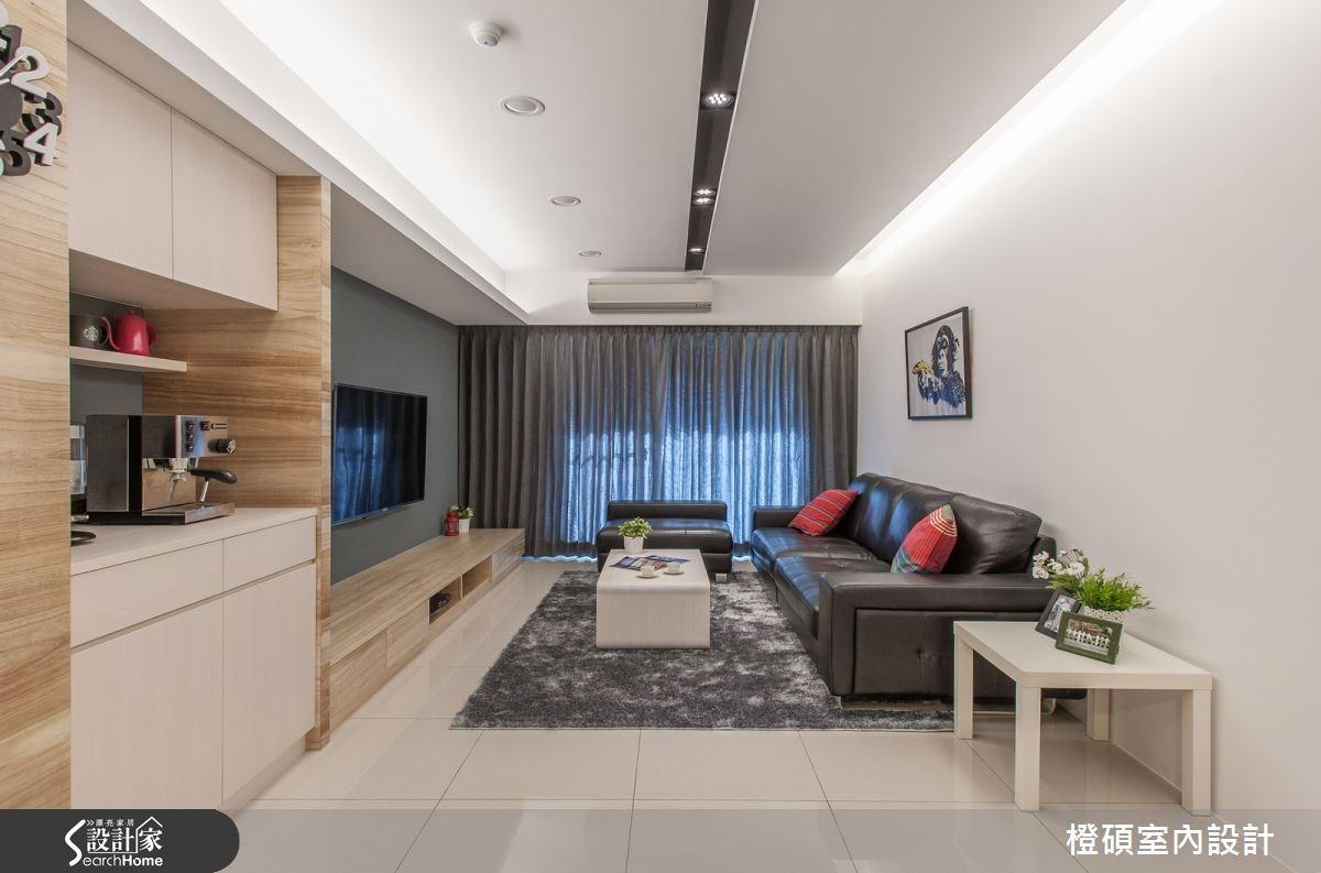 30坪新成屋(5年以下)_現代風案例圖片_橙碩室內設計_橙碩_07之3