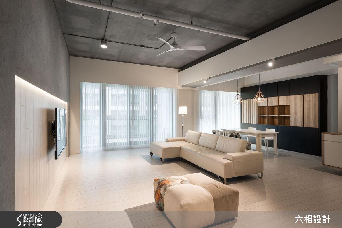 40坪新成屋(5年以下)_混搭風案例圖片_六相設計_六相_14之4