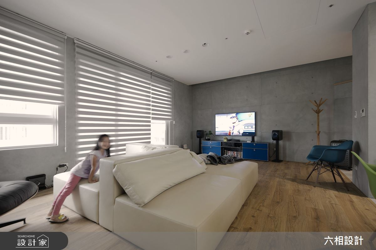 30坪新成屋(5年以下)_簡約風客廳案例圖片_六相設計_六相_18之7