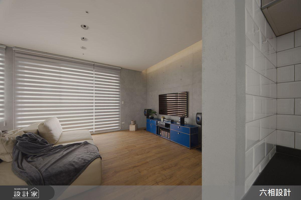 30坪新成屋(5年以下)_簡約風客廳案例圖片_六相設計_六相_18之8