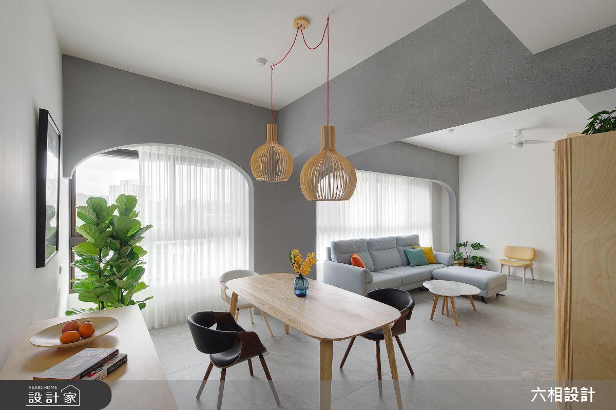 39坪預售屋_簡約風餐廳案例圖片_六相設計_六相_23之2