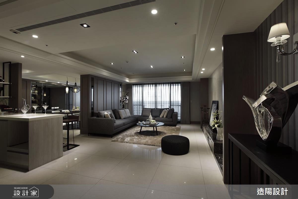 75坪新成屋(5年以下)_現代風客廳案例圖片_造陽設計_造陽_03之2