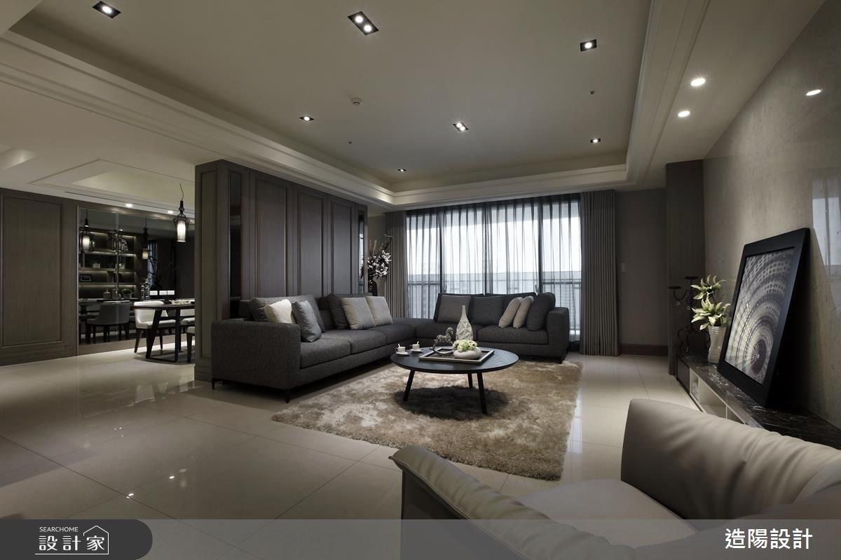 75坪新成屋(5年以下)_現代風客廳案例圖片_造陽設計_造陽_03之3