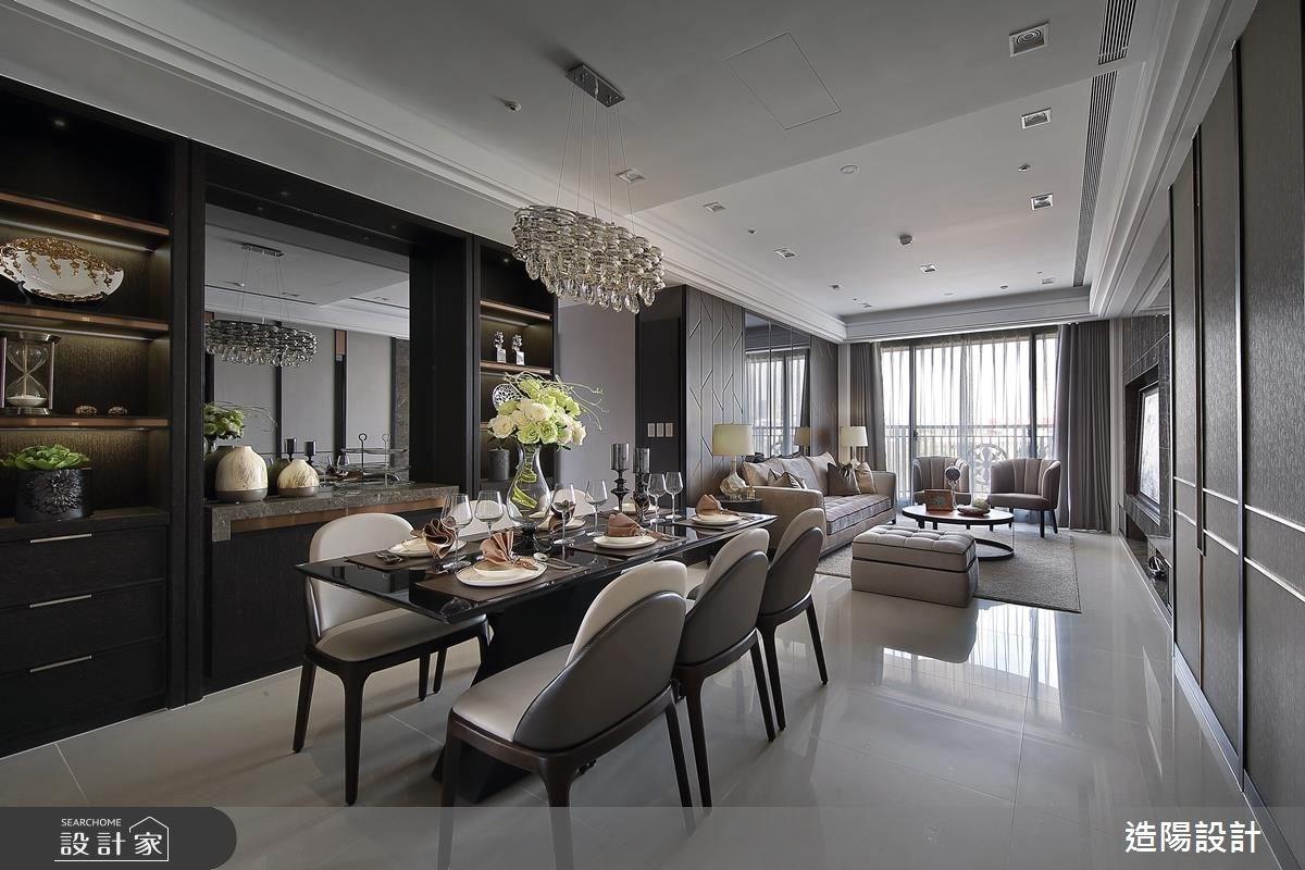 56坪新成屋(5年以下)_現代風客廳餐廳案例圖片_造陽設計_造陽_05之2
