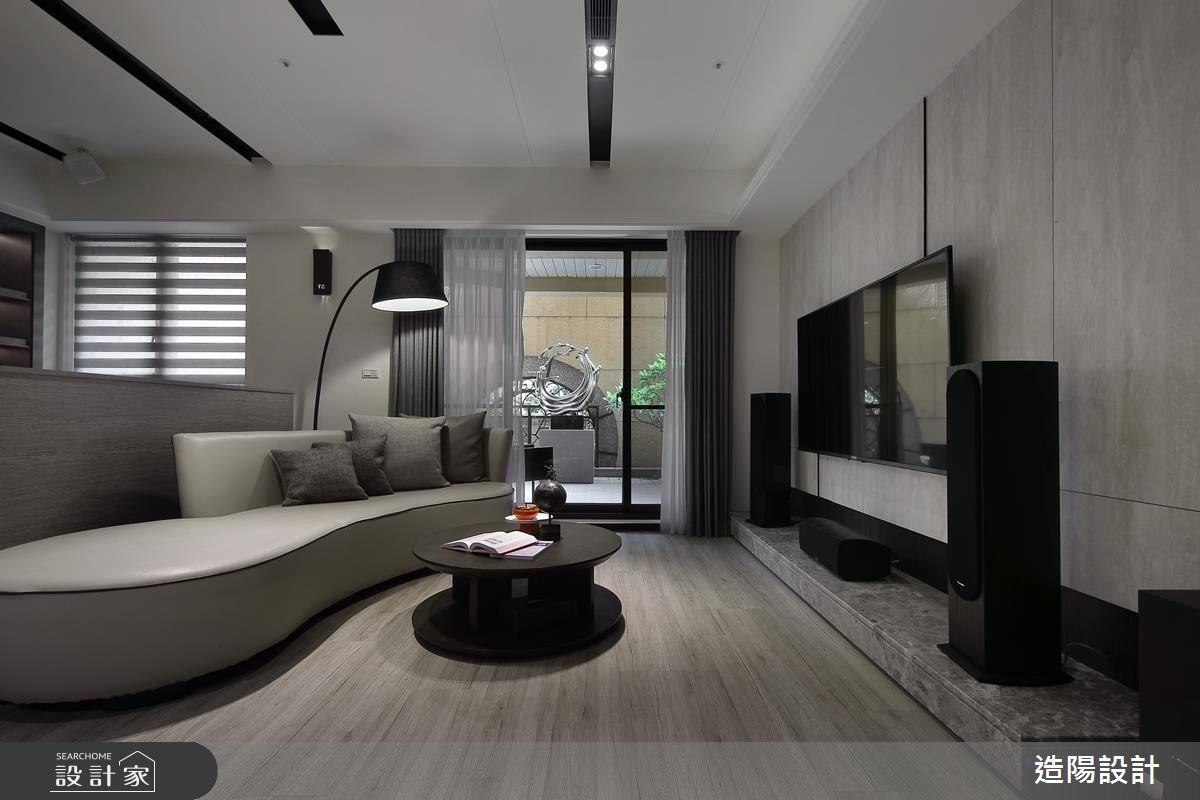 56坪新成屋(5年以下)_現代風客廳案例圖片_造陽設計_造陽_09之2