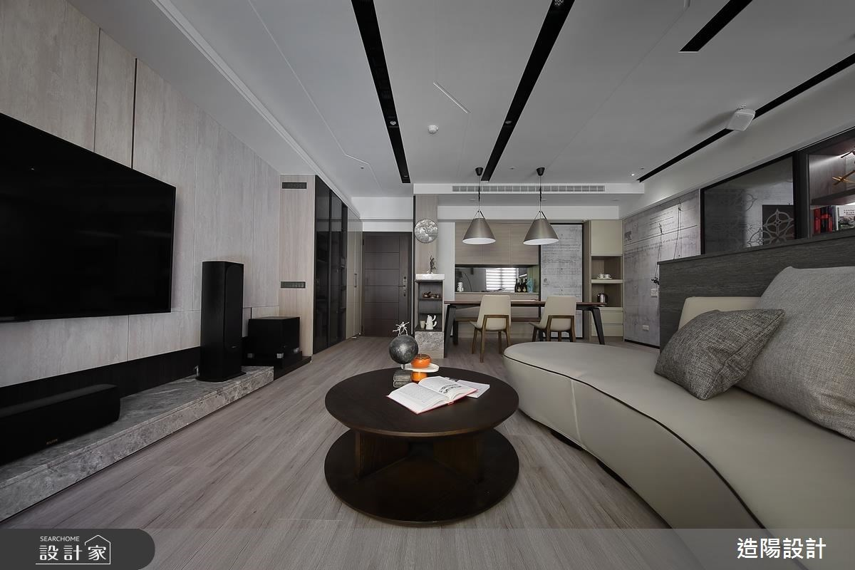 56坪新成屋(5年以下)_現代風客廳案例圖片_造陽設計_造陽_09之4