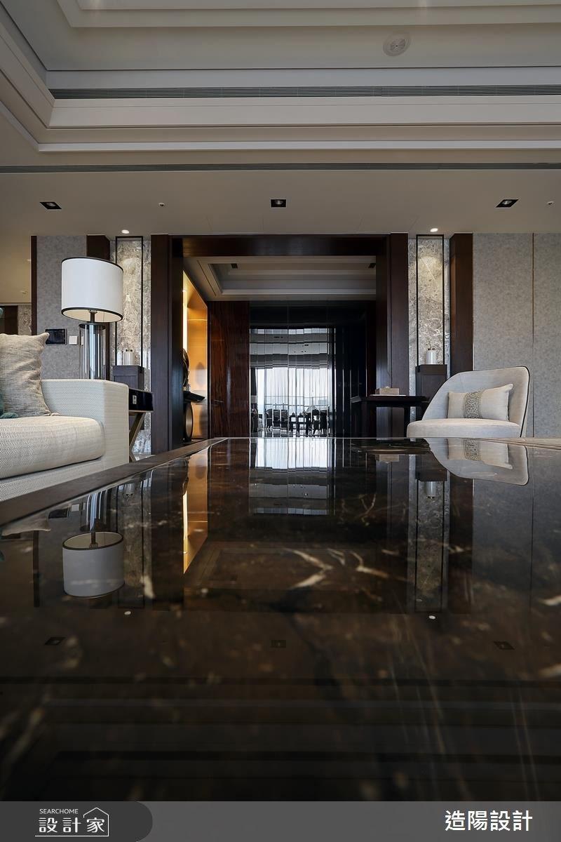141坪新成屋(5年以下)_新中式風客廳案例圖片_造陽設計_造陽_11之3