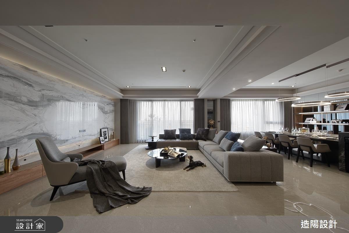 141坪新成屋(5年以下)_現代風客廳案例圖片_造陽設計_造陽_12之2