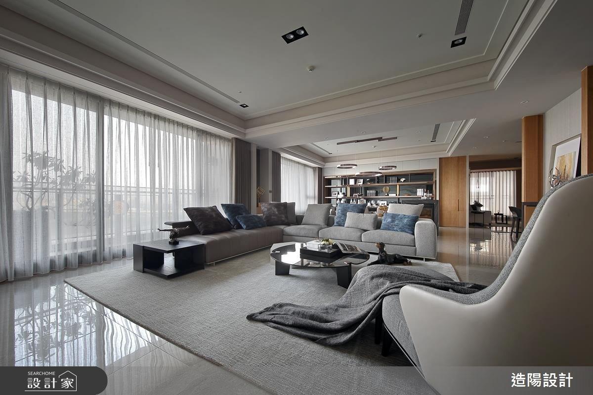 141坪新成屋(5年以下)_現代風客廳案例圖片_造陽設計_造陽_12之3