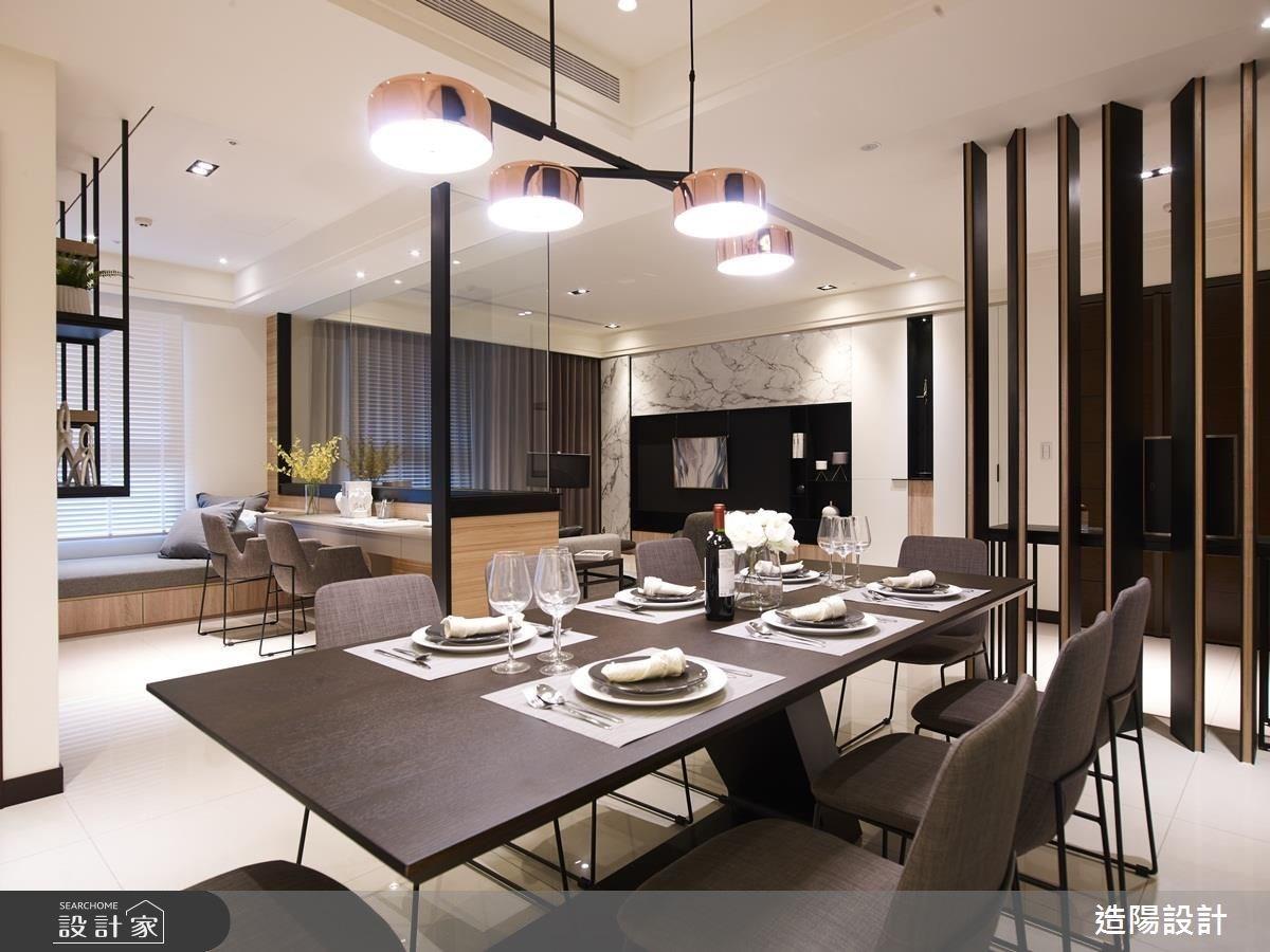 68坪新成屋(5年以下)_現代風餐廳案例圖片_造陽設計_造陽_13之4