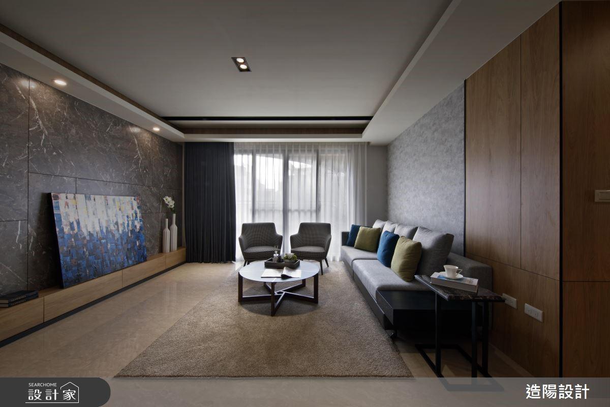 48坪新成屋(5年以下)_現代風客廳案例圖片_造陽設計_造陽_19之3