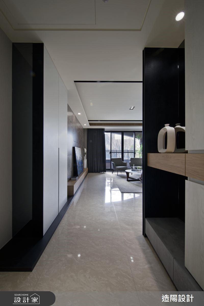48坪新成屋(5年以下)_現代風玄關案例圖片_造陽設計_造陽_19之1