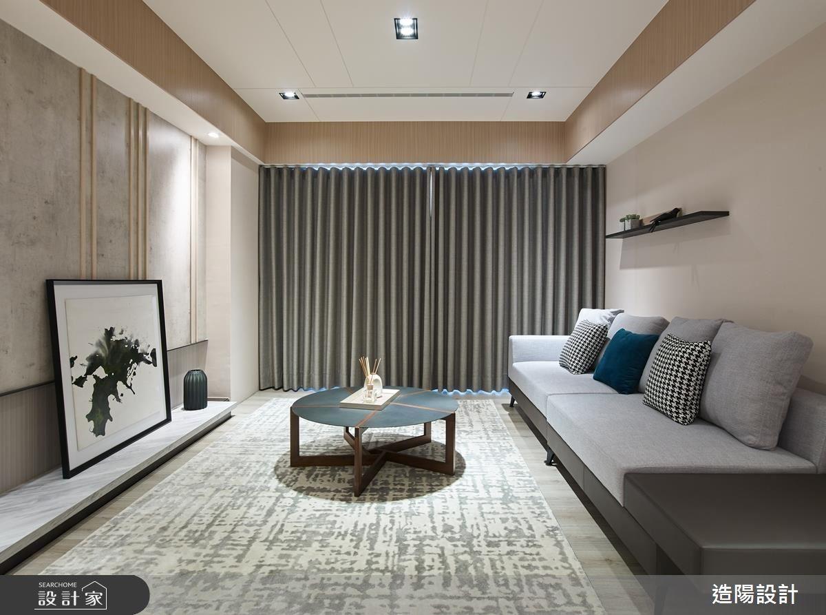 49坪新成屋(5年以下)_人文禪風客廳案例圖片_造陽設計_造陽_21之3