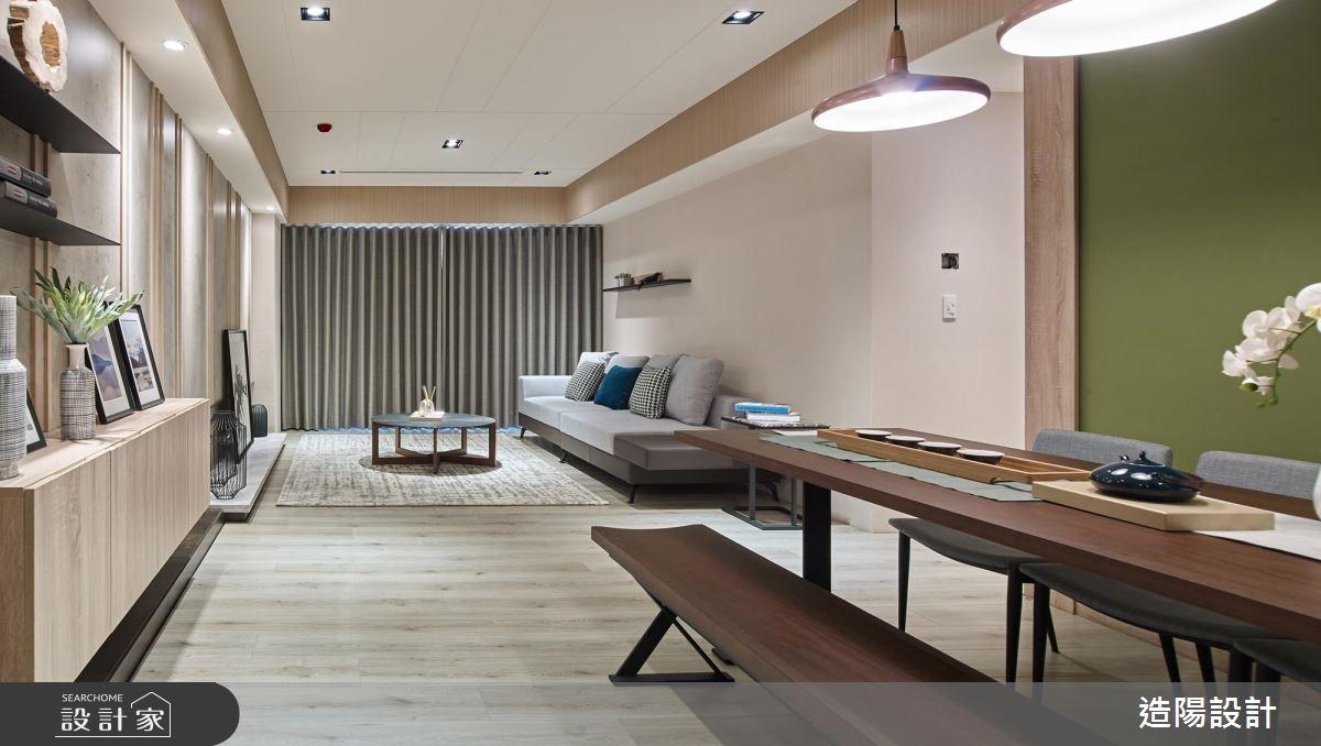 49坪新成屋(5年以下)_人文禪風餐廳案例圖片_造陽設計_造陽_21之2