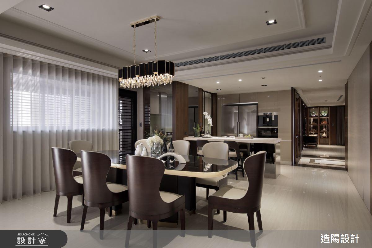 120坪新成屋(5年以下)_新中式風餐廳案例圖片_造陽設計_造陽_28之11