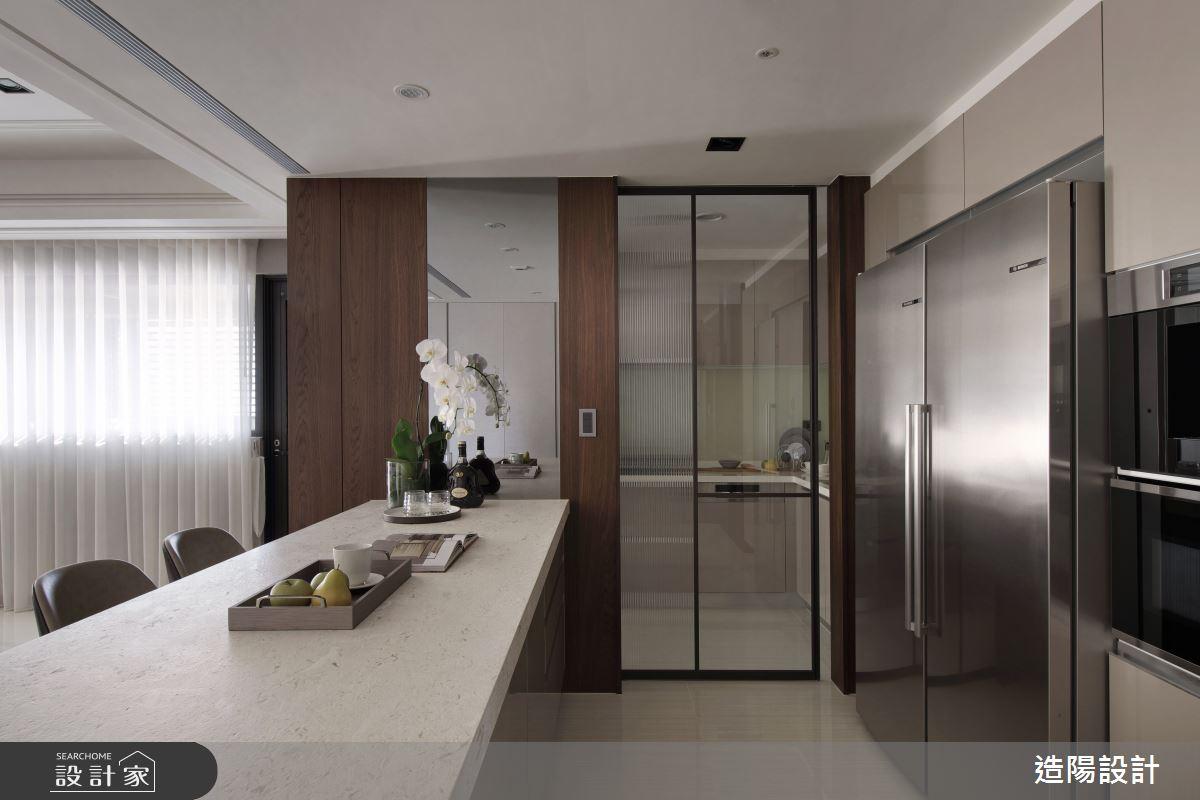 120坪新成屋(5年以下)_新中式風餐廳廚房案例圖片_造陽設計_造陽_28之17