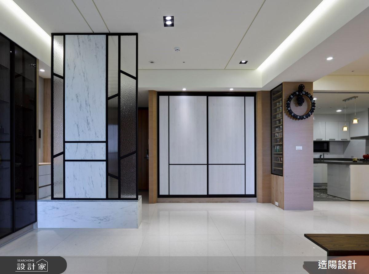 45坪新成屋(5年以下)_北歐風玄關案例圖片_造陽設計_造陽_29之2
