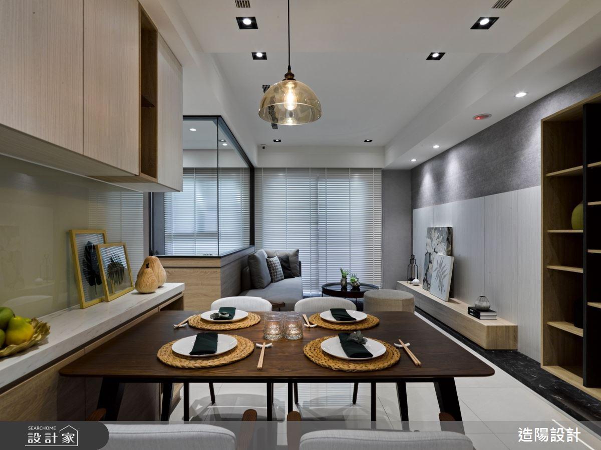 35坪新成屋(5年以下)_日式無印風餐廳案例圖片_造陽設計_造陽_32之3