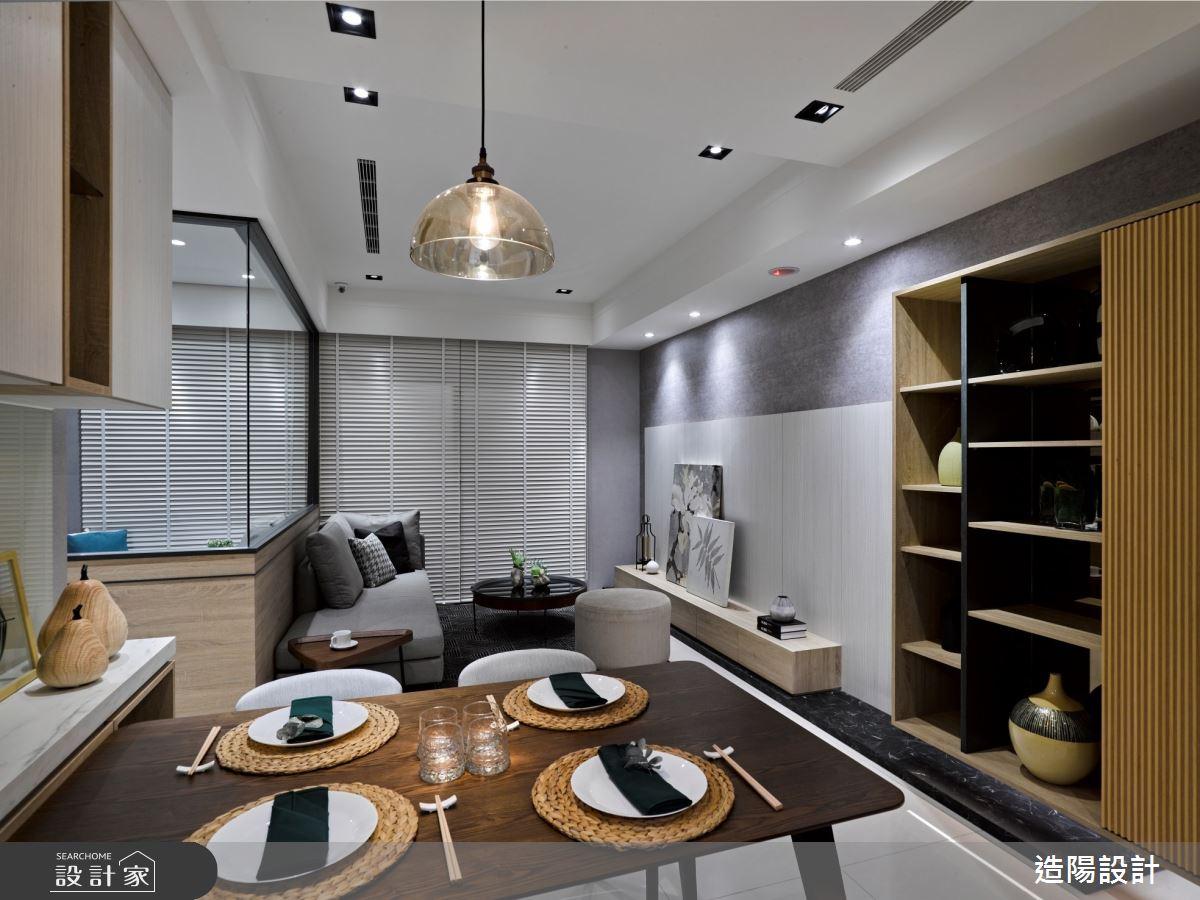 35坪新成屋(5年以下)_日式無印風餐廳案例圖片_造陽設計_造陽_32之2