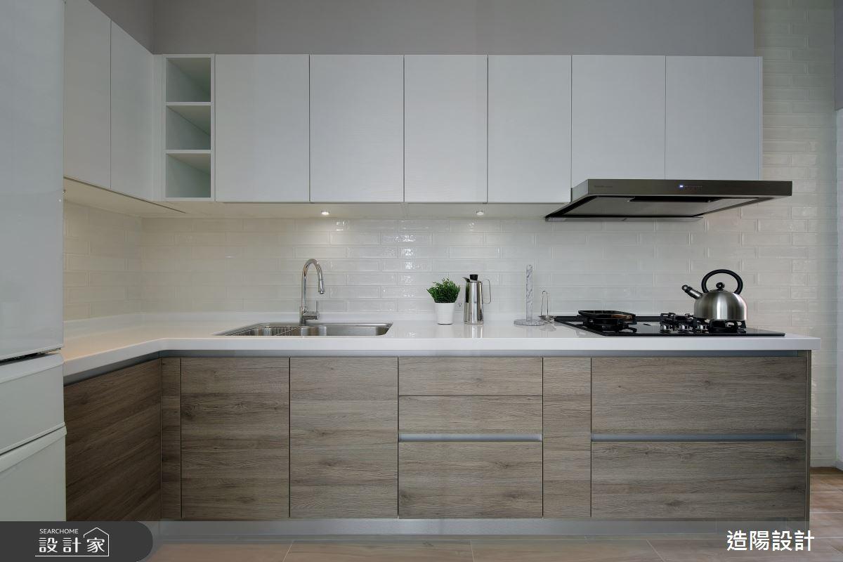 76坪老屋(16~30年)_美式風廚房案例圖片_造陽設計_造陽_34之13