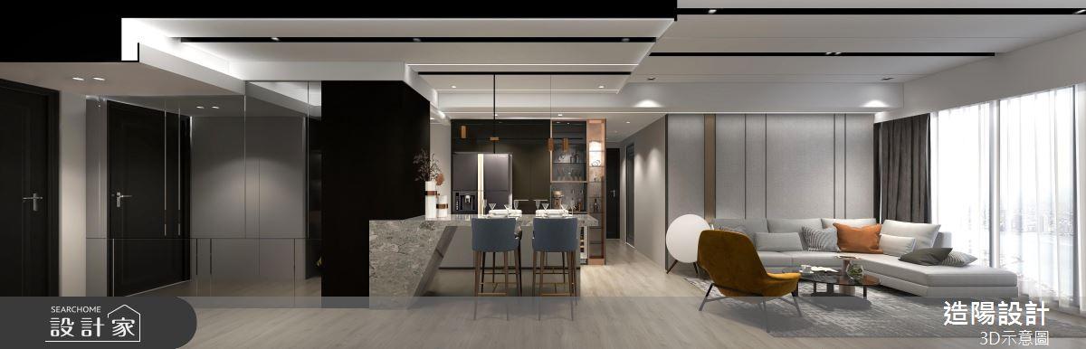 39坪預售屋_現代風案例圖片_造陽設計_造陽_36之2