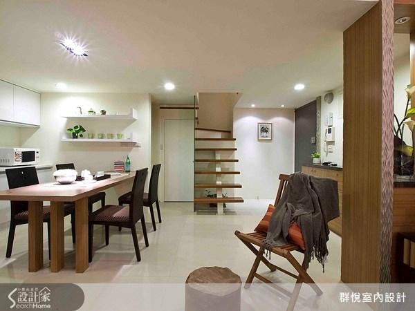 50坪新成屋(5年以下)_現代風餐廳案例圖片_群悅設計工程有限公司_群悅_05之2