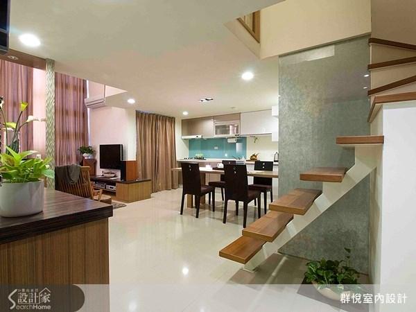 50坪新成屋(5年以下)_現代風玄關案例圖片_群悅設計工程有限公司_群悅_05之1