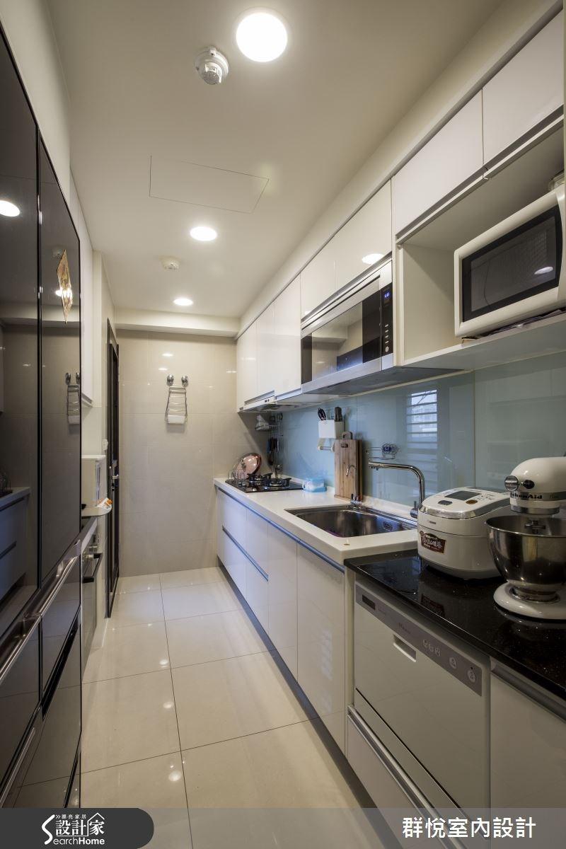 30坪新成屋(5年以下)_美式風廚房案例圖片_群悅設計工程有限公司_群悅_06之9