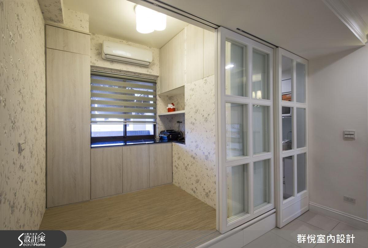 30坪新成屋(5年以下)_美式風和室案例圖片_群悅設計工程有限公司_群悅_06之16