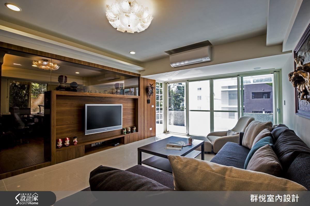 65坪中古屋(5~15年)_現代風客廳案例圖片_群悅設計工程有限公司_群悅_08之4