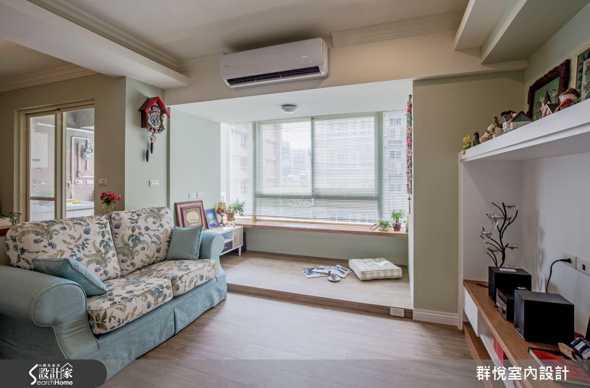 25坪中古屋(5~15年)_美式風客廳案例圖片_群悅設計工程有限公司_群悅_09之2