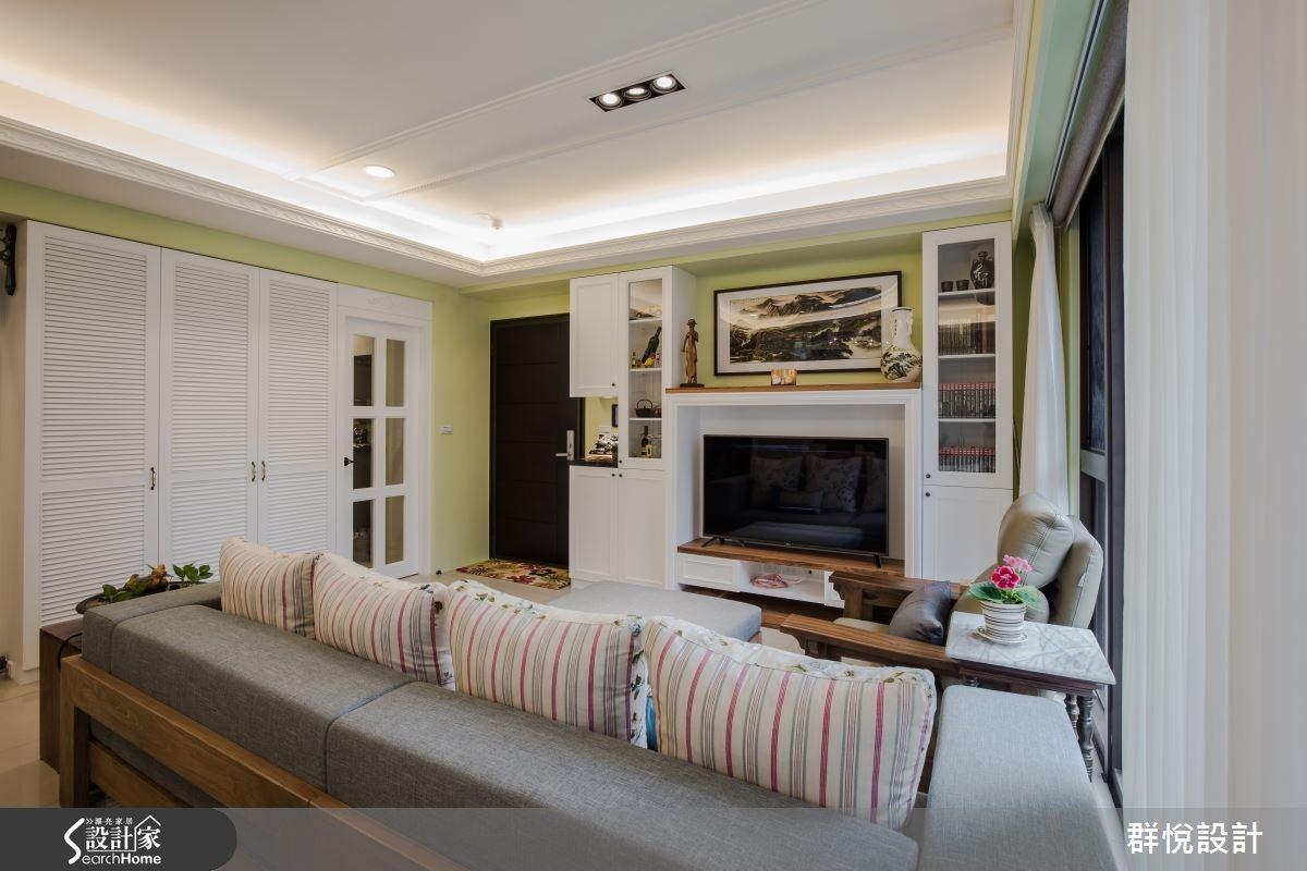 33坪新成屋(5年以下)_美式風客廳案例圖片_群悅設計工程有限公司_群悅_11之6