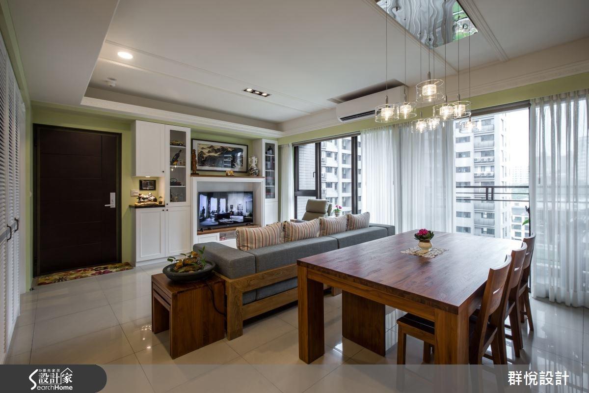 33坪新成屋(5年以下)_美式風餐廳案例圖片_群悅設計工程有限公司_群悅_11之11