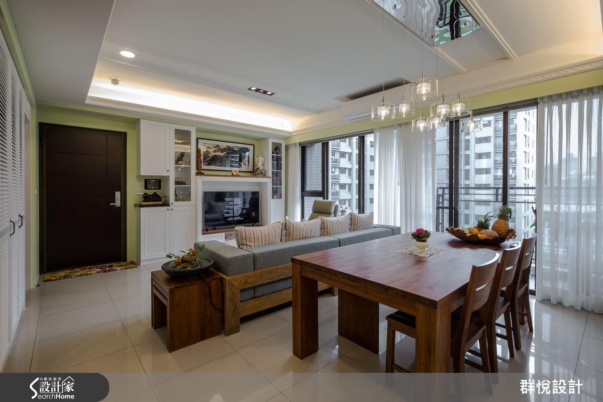 33坪新成屋(5年以下)_美式風餐廳案例圖片_群悅設計工程有限公司_群悅_11之12