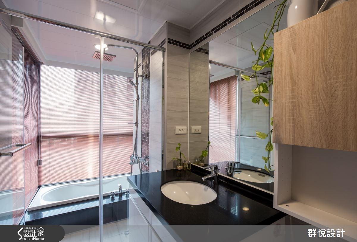 33坪新成屋(5年以下)_美式風浴室案例圖片_群悅設計工程有限公司_群悅_11之33