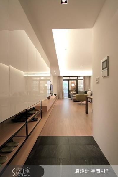 27坪新成屋(5年以下)_北歐風玄關案例圖片_原設計 空間制作_原設計_05之1