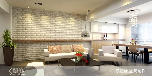 37坪老屋(16~30年)_北歐風客廳案例圖片_原設計 空間制作_原設計_08之3