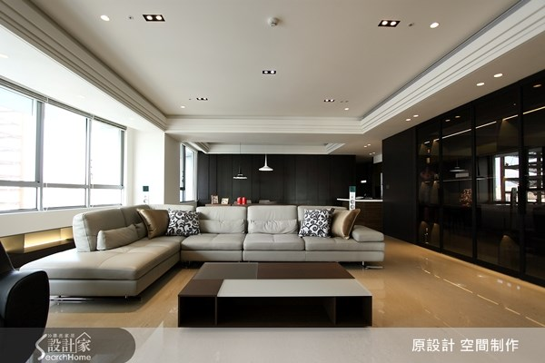 62坪新成屋(5年以下)_混搭風客廳案例圖片_原設計 空間制作_原設計_10之3