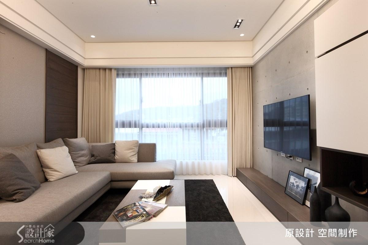 27坪新成屋(5年以下)_簡約風客廳案例圖片_原設計 空間制作_原設計_13之3