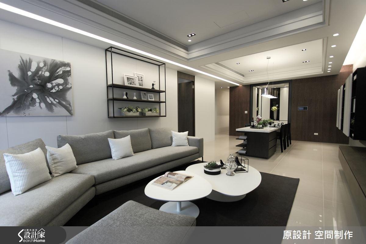 60坪新成屋(5年以下)_現代風客廳案例圖片_原設計 空間制作_原設計_14之2